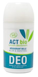 déodorant act bio bille