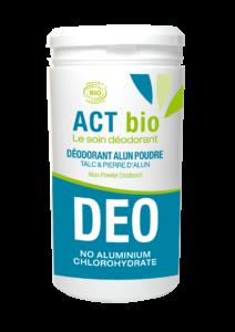 déodorant poudre act bio